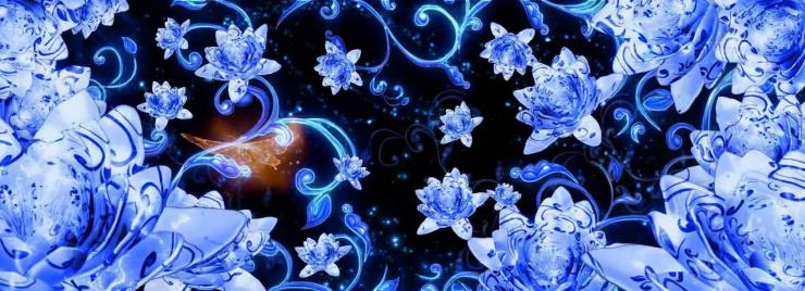 唯美琉璃蝴蝶动态视频