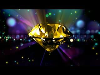 LED婚礼  金色钻石 梦幻背景