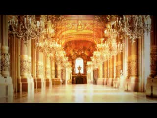 LED婚礼  华丽宫殿  视频背景素材