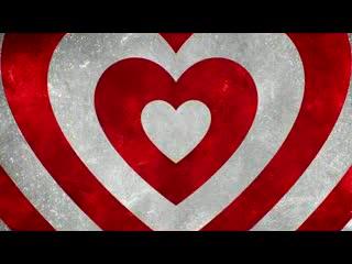 LED婚礼  爱心循环 视频背景素材