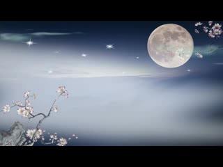 LED视频背景  月光唯美