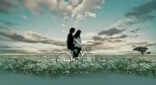 LED婚礼背景素材  梦幻单车背景