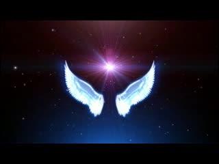 LED视频背景  隐形的翅膀