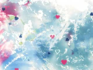 LED婚礼 浪漫彩墨 视频背景素材