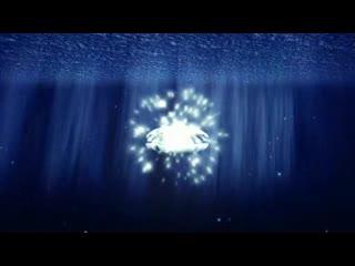 LED婚礼  浪漫海洋贝壳钻戒 视频背景素材