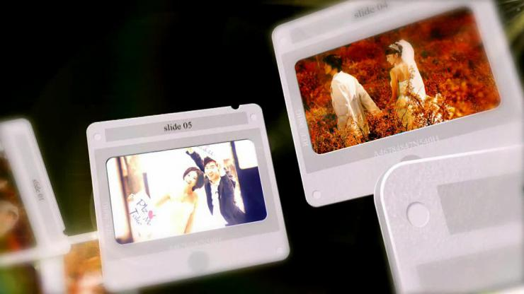 AE婚礼甜蜜时光相册视频模板