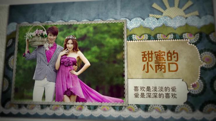 AE见证幸福时刻婚礼片头视频模板