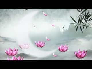 LED中国风    水墨文化视频素材