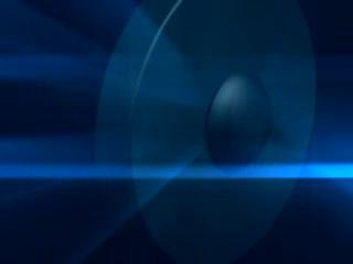 LED中国风  蓝色中国风视频元素素材