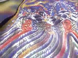 LED中国风  古元素  皇袍玄幻风格 视频素材