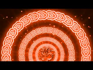 LED中国风  大气震撼龙印 视频素材