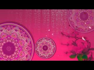 LED中国风  古典舞 月满西楼 视频素材