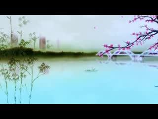 LED中国风 江南唯美竹子 视频素材