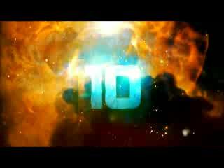 LED倒计时 数字爆炸10秒倒计时 视频素材