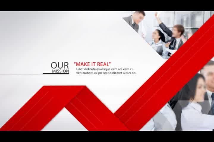 商务公司简介宣传AE视频模板