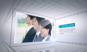 AE企業大事記宣傳展示視頻模板