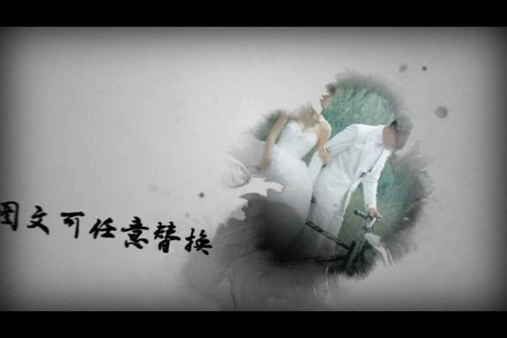 AE中国风水墨视频片头视频模板