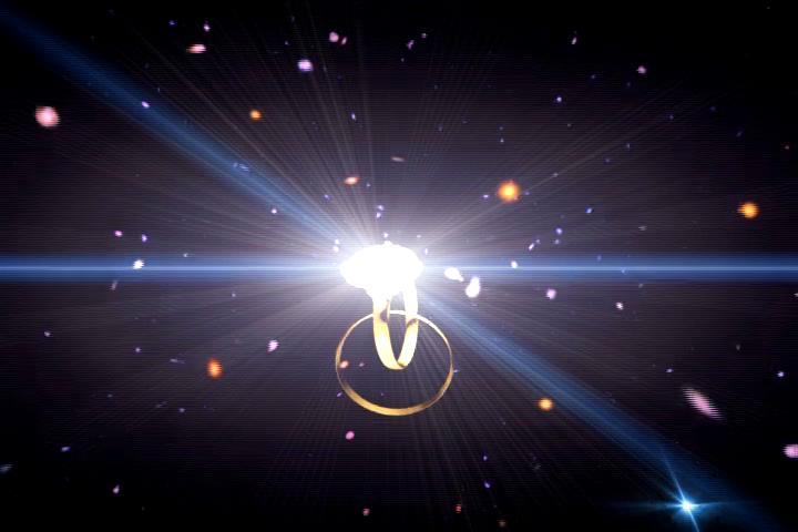 星空戒指LED视频素材