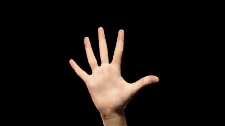 手势倒计时视频素材