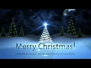 唯美圣诞节开场视频01