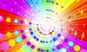 超美绚丽动感粒子光效视频