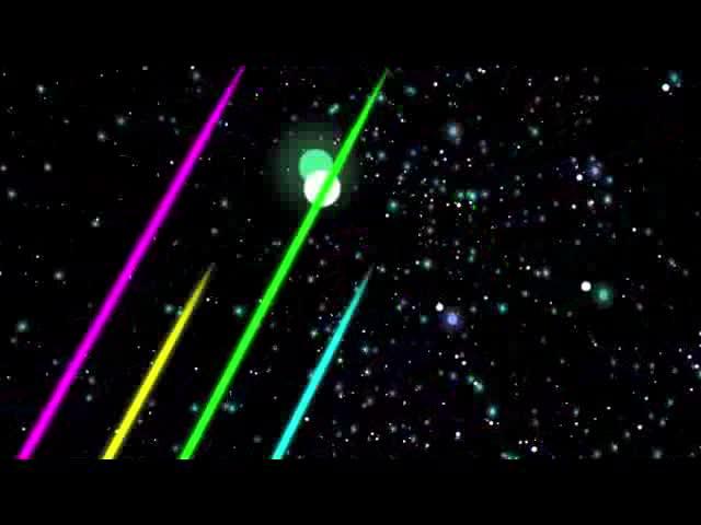 LED酒吧VJ彩条视频素材