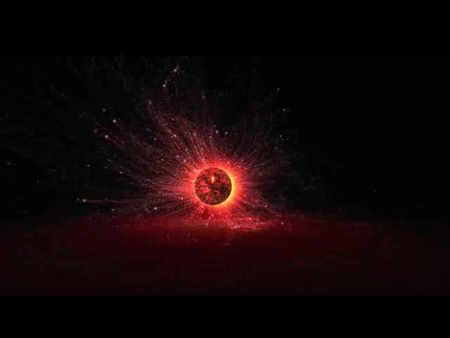 粒子球动感酒吧VJ视频素材