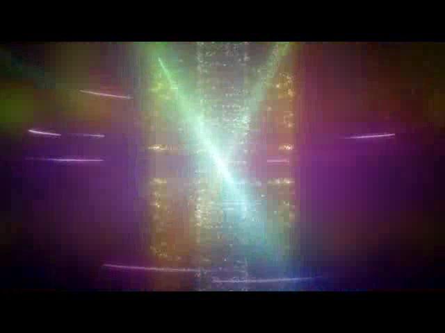 超炫动态粒子LED舞台背景视频素材