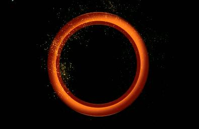 logo金光光环视频素材