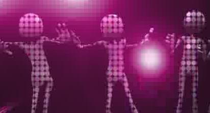 酒吧VJ  外星人光影跳动的虚拟节奏 视频素材