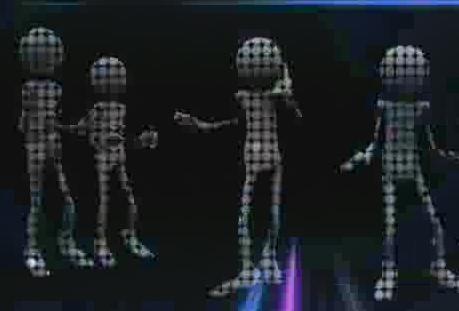 酒吧VJ 外星人光影跳动的虚拟节奏6 视频素材