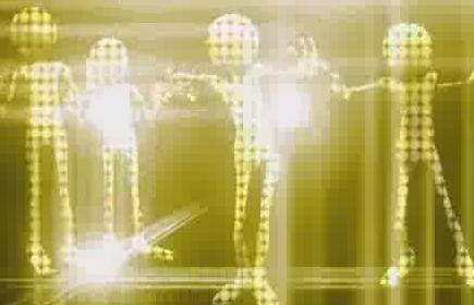 酒吧VJ 外星人光影跳动的虚拟节奏7 视频素材