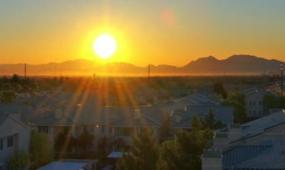 实拍自然风景 日出唯美 视频素材