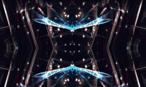 高清抽象背景线条舞台背景视频素材