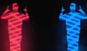 酒吧VJ   人物动感剪影街舞  视频素材