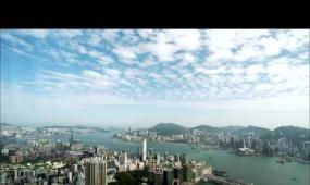 香港城市景快速实拍视频素材