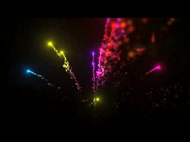 烟花酒吧夜店舞台背景视频素材