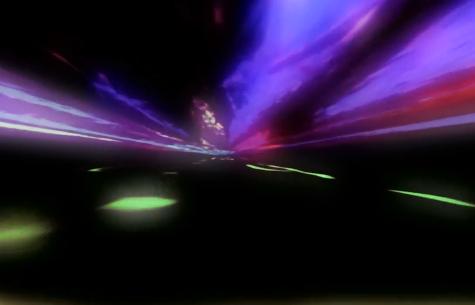 震撼光影穿梭LED舞台背景视频素材