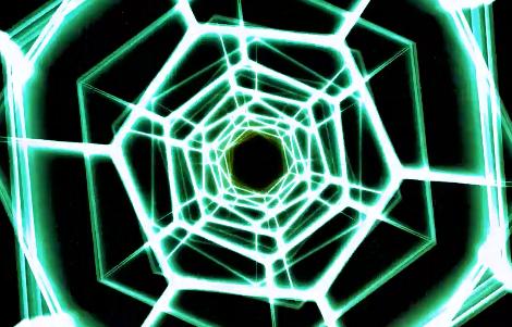 时尚蜘蛛网酒吧VJ舞台背景视频素材