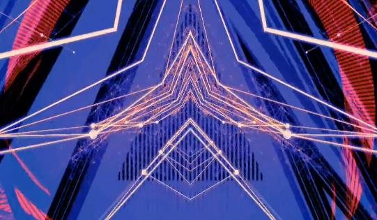 光效线条变化动感节奏酒吧VJ视频素材