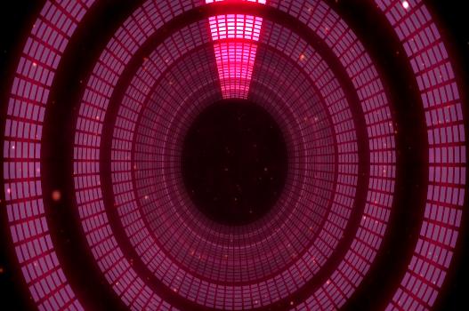 动感光圈节奏LED背景视频素材