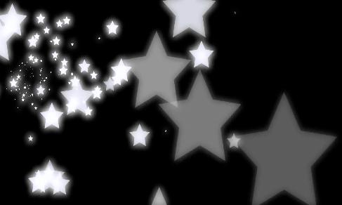 黑白星星酒吧VJ背景视频素材