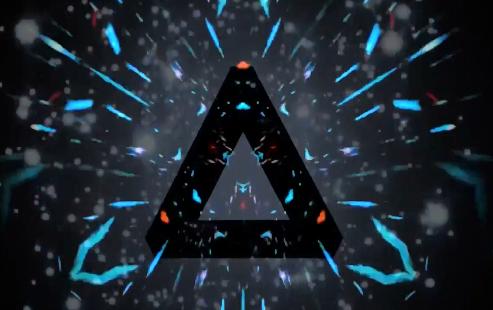 时尚粒子光效LED晚会背景视频素材