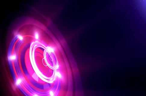光圈粒子LED舞台背景视频素材