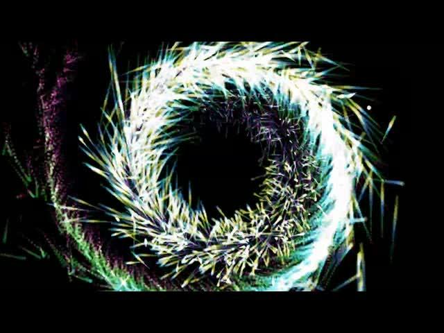 电音粒子漩涡酒吧夜店背景视频素材