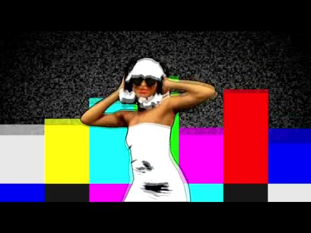 酒吧vj DJ女舞蹈 视频素材
