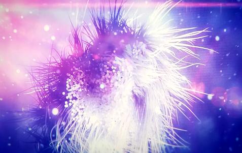 炫彩粒子LED舞台背景视频素材