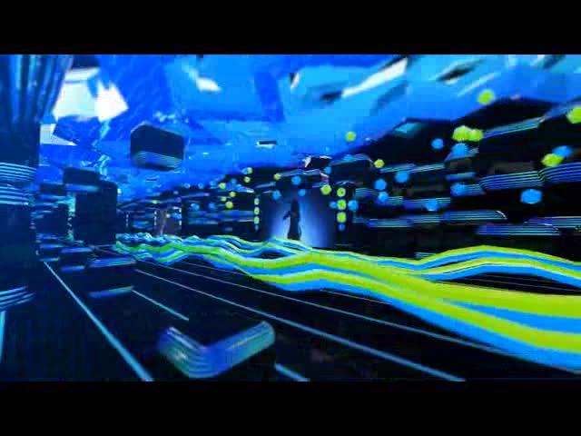 酒吧vj 3D舞蹈科幻 视频素材