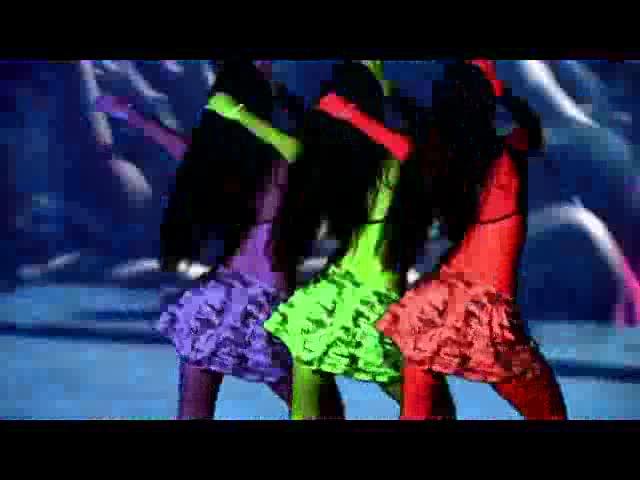 酒吧vj  性感领舞灯光 视频素材
