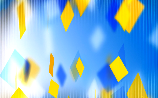 3D方块跳动视频素材